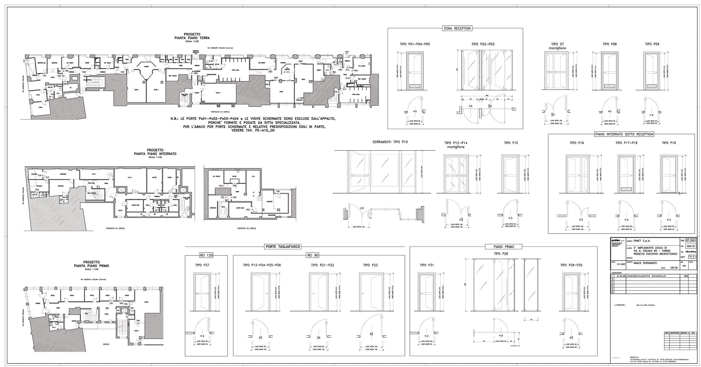 Abaco serramenti - Finestre prospetto dwg ...